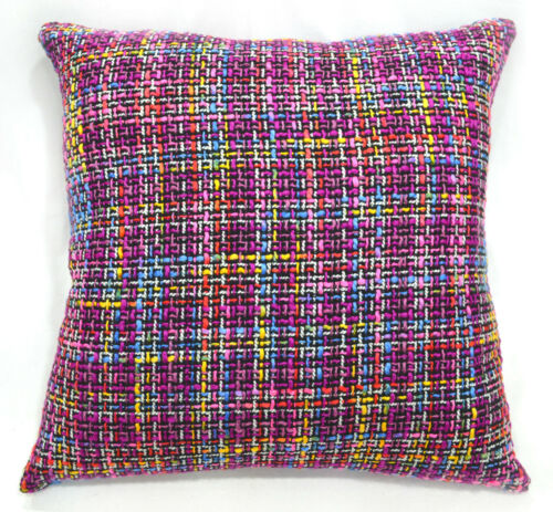 New Colorful Briad Pattern Cotton Blend Cushion Cover//Pillow Case Custom Size