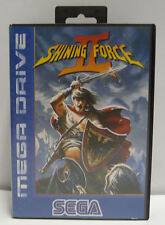 SHINING FORCE 2 - SEGA MEGA DRIVE MD PAL COMPLETE RARE