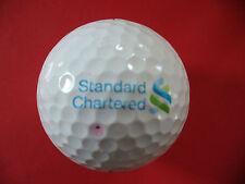 Golfball mit Logo : Standard Chartered Logoball TITLEIST PRO V1 Glücksbringer ..