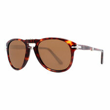 Persol PO 714 24/57 52mm Havana Brown Polarized Folding Sunglasses