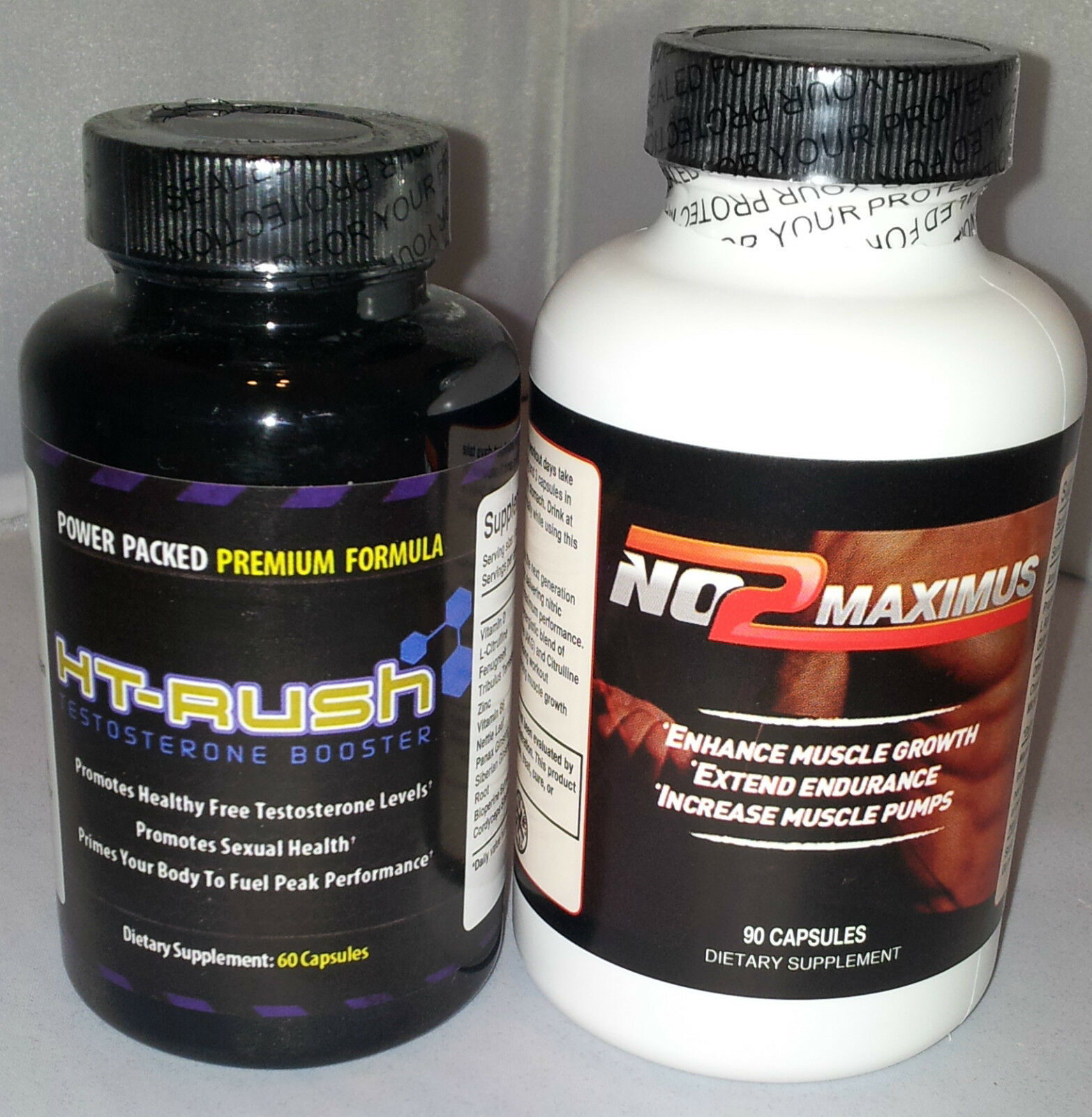 Ht Rush (60 capsules) and and and No2 Maximus(90 capsules) NEW AND SEALED b1ffaa
