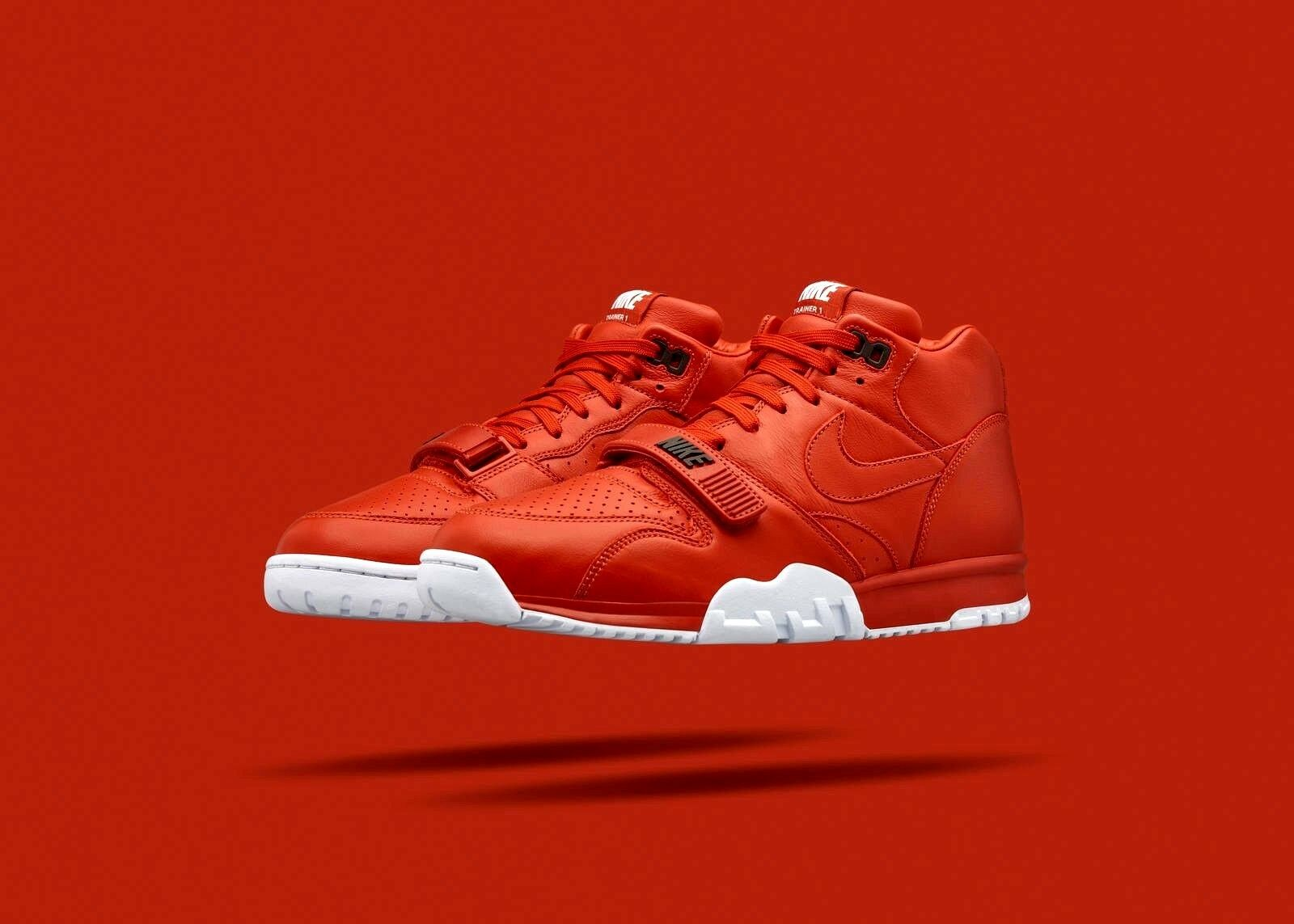 Nike Air Trainer 1 Mid Rust Red 10.5 Bo Jackson Max 90 95 97 I 180 3 force 270