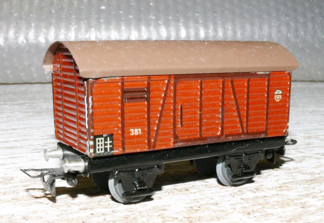 S28 Märklin 381 .8 Ged. freight Wagon Plate 8,5 cm