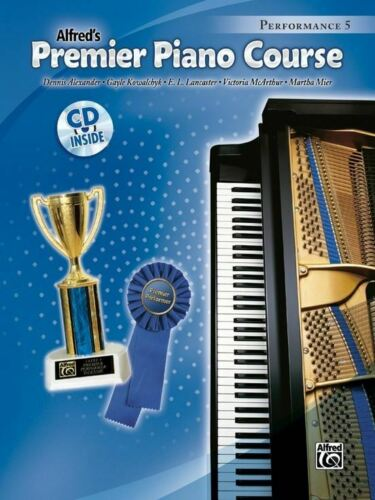 Alfred/'s Premier Piano Course Performance 5 w// CD