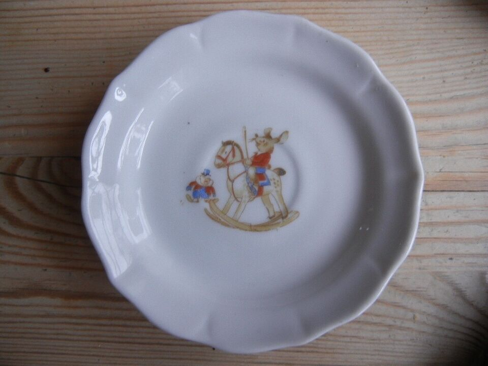 Andet, RETRO børnetallekener, porcelæn