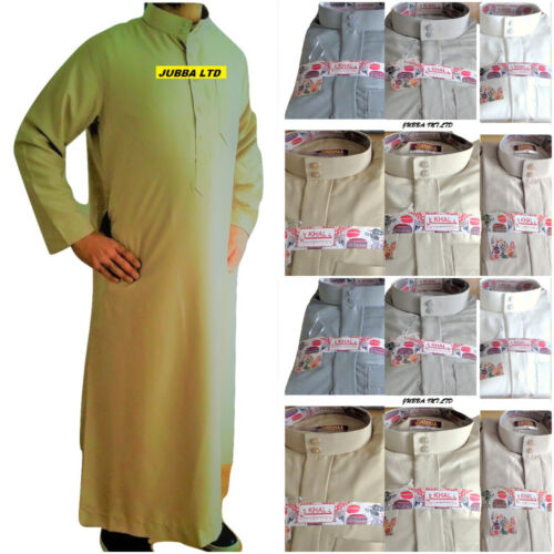 2 PCS JUBBA/JUBBAH/ WITH TROUSERS/PANTS (6 colours) NEW for cheap