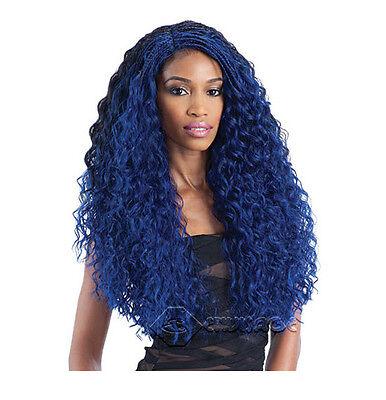 FreeTress Equal  Lace Front L Part Wig- Flexi Curl Braids