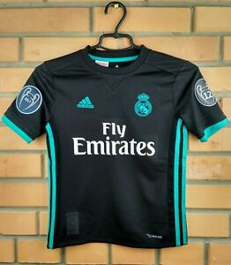 eb8157706 10 10 Real Madrid jersey 9-10 years 2018 shirt B31092 soccer ...