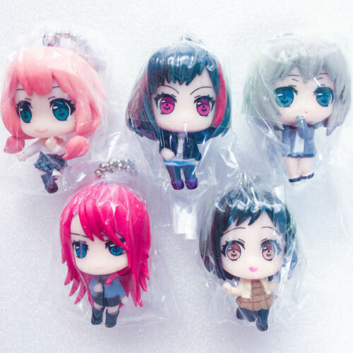 Afterglow Mini Figure with Ball Chain Ran Moca... Girls Band Party BanG Dream