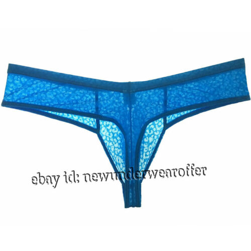 New Men Lace Cheeky Thong Hipsters GYM Pouch Underwer Male Athletic Boxer Briefs