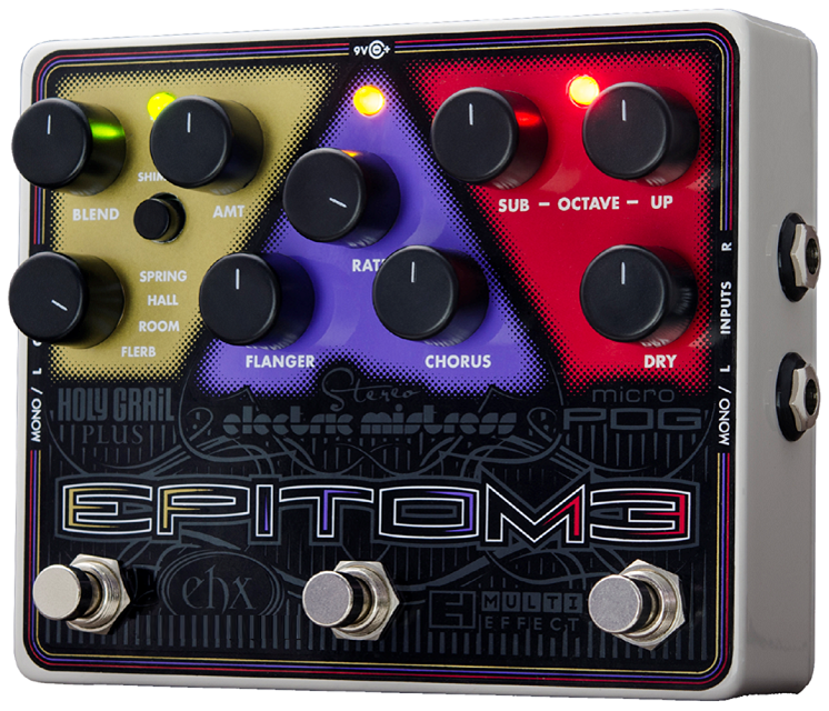 EHX Effects Electro-Harmonix Epitome Multi-effect Guitar Effects EHX Pedal ea0209