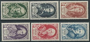 1949-FRANCIA-CELEBRITA-DEL-XVIII-SECOLO-MNH-EDF058