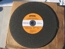 """STIHL OEM 14/"""" 25.4 MM STEEL CUT OFF SAW BLADE 0835-010-8004"""
