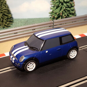 Image Is Loading Scalextric 1 32 Car Blue Mini Cooper