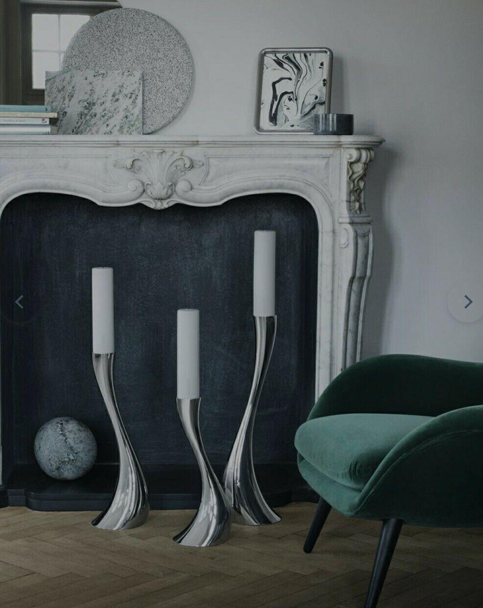 Georg Jensen Cobra Floor Candle Holder Large For Sale Online Ebay