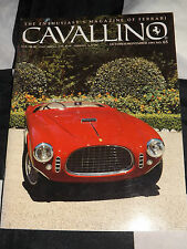 CAVALLINO FERRARI MAGAZINE OCT NOV 1991 ISSUE 65 FERRARI 250 MM VIGANALE SPYDER