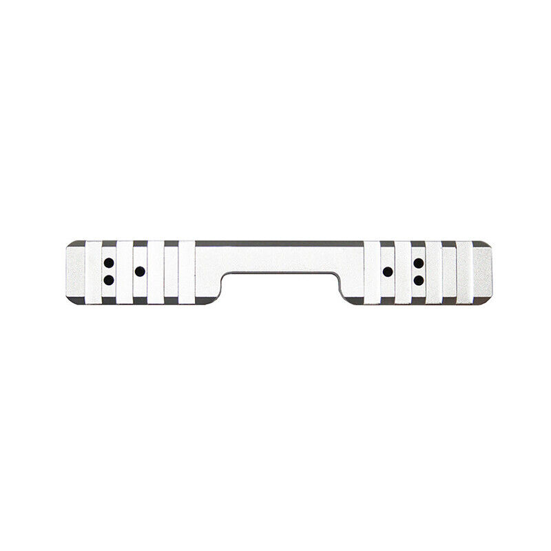 CZ455 11mm cola de milano Estándar de Aluminio Riel Picatinny-Plata-también Cogswell