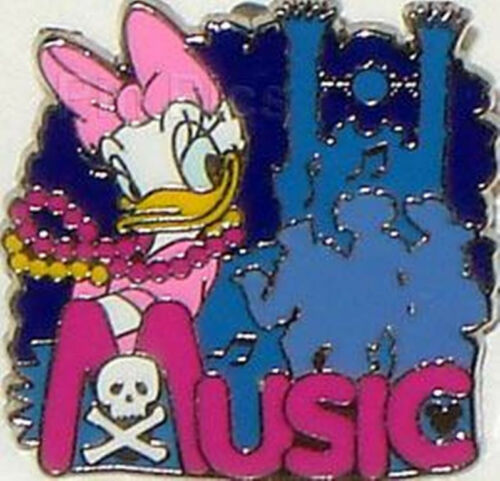 DAISY MUSIC Dreams Collection 2007 DLR Hidden Mickey Disney Pin 55222