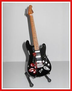 DEPECHE-MODE-GUITARE-MINIATURE-de-COLLECTION-VIOLATOR-Goodies-Collector