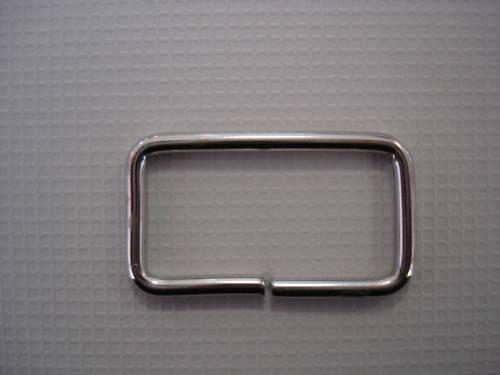 10 vierkantring 25 mm Acier Boucle métal pour sangle 25 mm