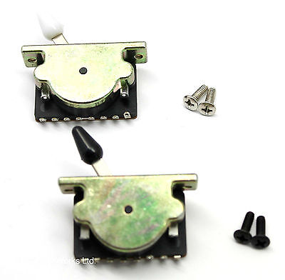 Super heavy duty guitar pickup selector switch, 5 way & 3 way. UK seller