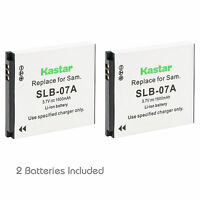Kastar Slb-07a Battery Charger Samsung St600 Tl100 Tl210 Tl220 Tl225 Tl90 Camera