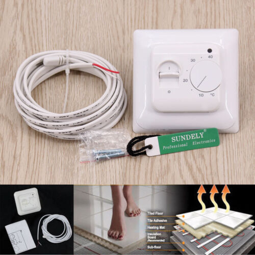 3M Sensor Cable New AC Manual Thermostat 2-position control with on//off output