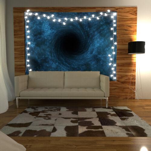 Black Holes Wandteppich Kunst Wandbehang Tisch Bettdecke Wohnkultur