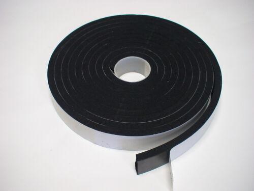 Zellkautschuk Moosgummi Vorlegeband Dichtung 5m x25x8mm BAW