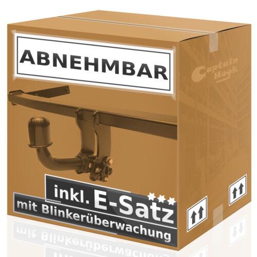 Audi A3 8L 3//5-Tür 96//03 AHK abnehmbar 13p E-Satz mit Blinküberwachung
