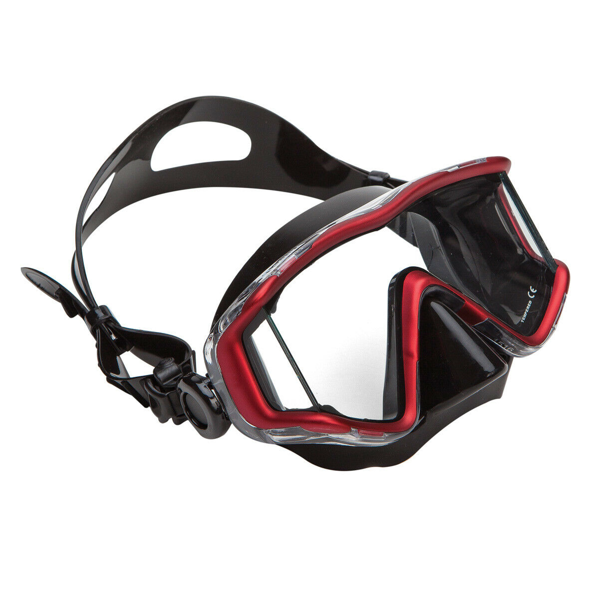 XS SCUBA Fusion 3 Panoramic View Polycarbonate Frame Dive Snorkel Spearfish Mask