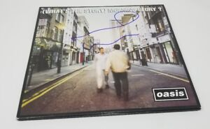 NOEL-GALLAGHER-signed-auto-WHAT-S-THE-STORY-MORNING-GLORY-Vinyl-2x-LP-OASIS