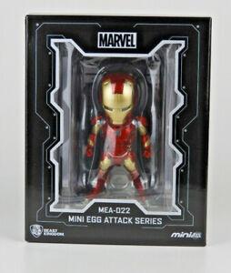 Beast Kingdom Iron Man Mark XLIII With Light Up Hall Of Armor Age of Ultron NEW