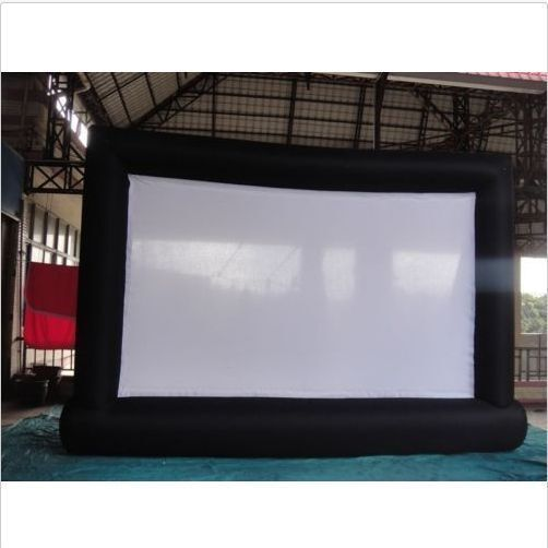 85m Giant Inflatable Movie Screen, Outdoor Inflatable Screen With 2 Blowers U