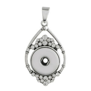Snap It Premium Pendant For Ginger Snaps Style Button