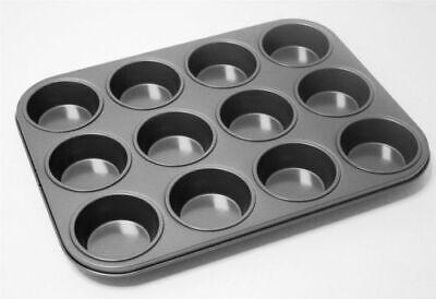 2019 Ultimo Disegno 12 Foro Muffin Vassoio Antiaderente Metallo Forno Fata/cup Cake Teglia/pan Nuovo- Essere Altamente Elogiati E Apprezzati Dal Pubblico Che Consuma