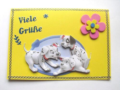 3D Geburtstag Glückwunsch Grußkarte viele verschiedene Kindermotive Nr.8