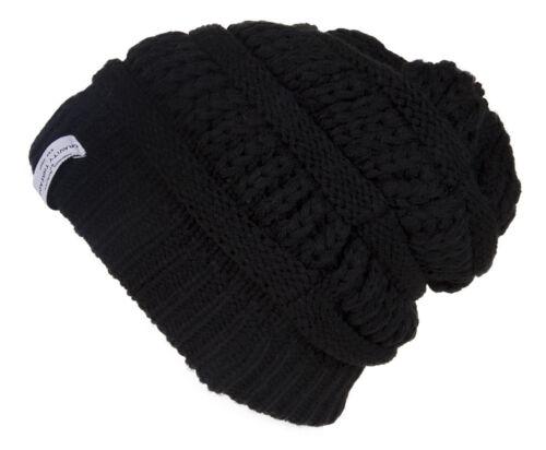 2 PACK Crochet Knit Weave Beanie