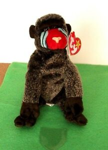 944f5dea1a5 TY BEANIE BABIES--CHEEKS THE BABOON--IN MINT CONDITION-1999 P.E. ...