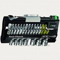 Wera Tools 05073220002 Metric Sockets ¼ Dr Mini Bit-ratchet + Bit Tips 38pc Kit