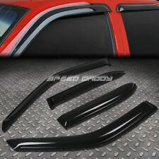 For 97 02 Corollaprizm Smoke Tint Window Visor Shadesun Windrain Deflector Fits 2002 Toyota Corolla