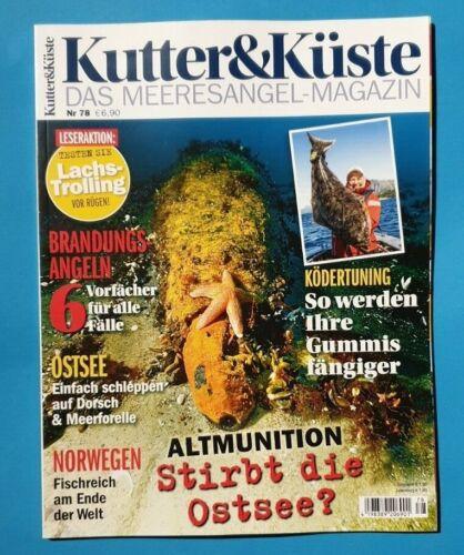 Magazin Nr.78   2019  ungelesen 1A abs TOP Kutter /& Küste das Meeresangel
