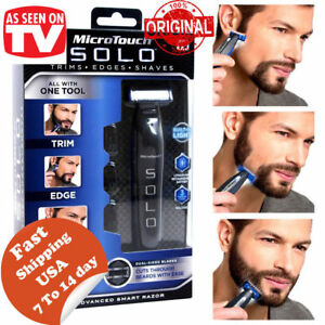 new-SOLO-Rechargeable-Men-039-s-Smart-Razor-Rechargeable-Shaver-Trimmer