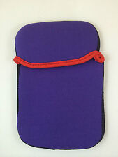 "FUNDA DE NEOPRENO 7"" PULGADAS PARA TABLET EBOOK COLOR MORADO"
