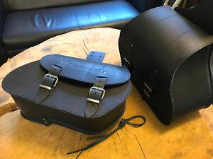 ARES-BLACK-Satteltaschen-Set-schwarz-Seitenkoffer-Harley-Davidson-Dyna-Sportster