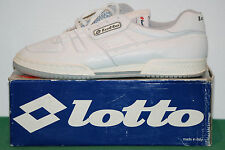 vintage lotto CROMA becker shoes 1984 tennis NOS hi-top