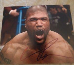 Quinton Rampage Jackson Signed 8x10 Photo A Team Ufc Champ W Coa Proof Rare Wow Ebay