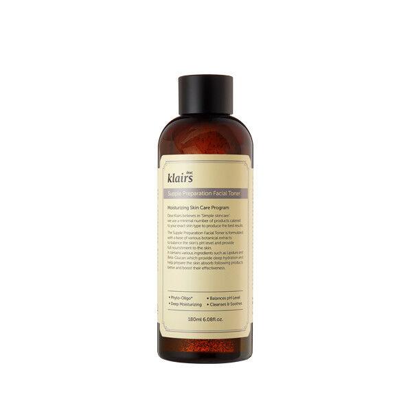 KLAIRS Supple Preparation Facial Toner 180ml hydration moisturize sensitive skin