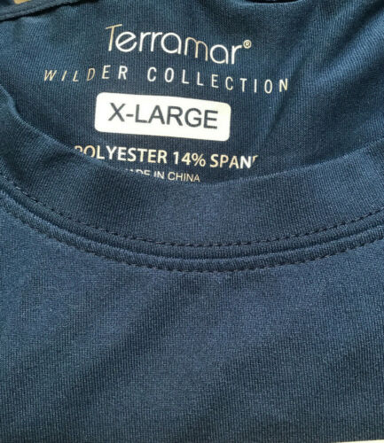 Terramar /'Wilder Collection/' Mens Thermal Long Sleeve Thumbholes Midweight NEW