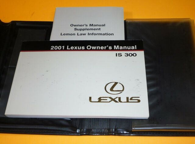 Lexus Is 300 Manual Guide